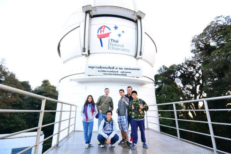 astronomers ASEAN Varee international school students education South East Asia