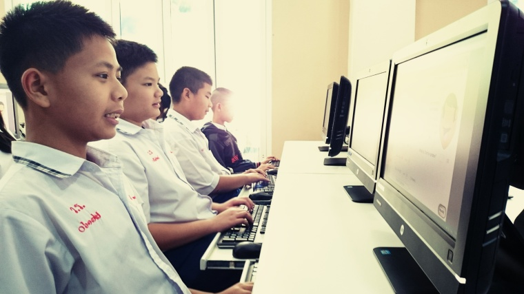 Hour of Code at schools in Asia