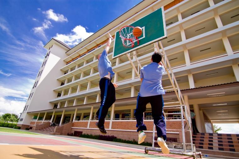 basketball at school