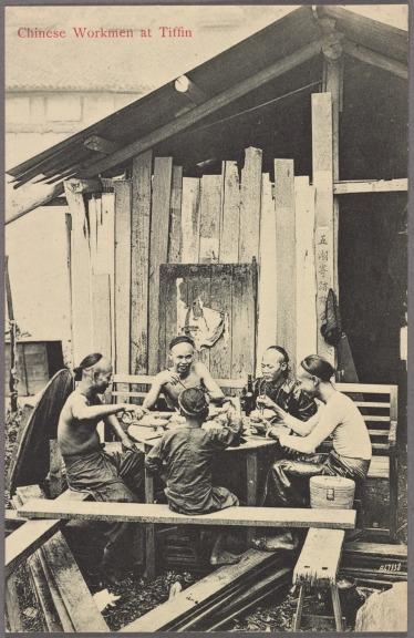 Chinese Workmen at Tiffin